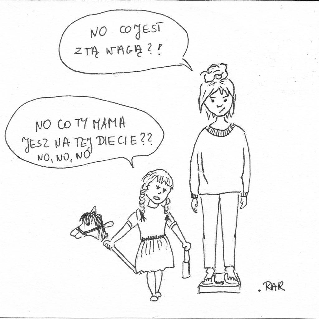 Córka i waga prawdę Ci powie