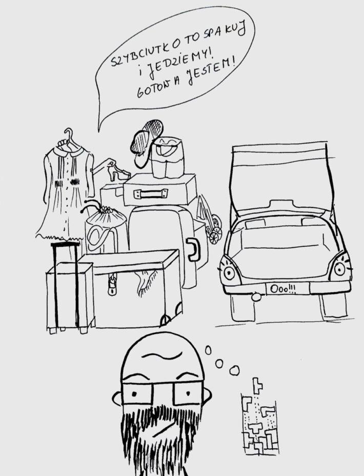 pakowanie auta na wakacje